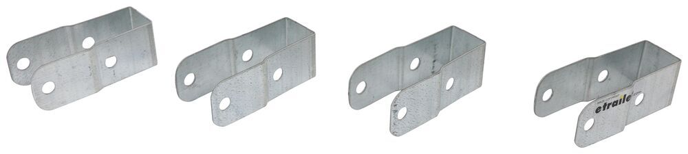 Replacement HD Crossbar Brackets for Malone Trailers Roof Rack on Wheels Parts,Watersport Trailer MAL54VR
