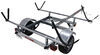 malone trailers roof rack on wheels j-style lowmax trailer with carriers for 2 kayaks - detachable tongue 600 lbs