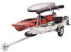 malone trailers saddle style 2-tier cargo box included fishing rod tube spare tire mal62fr