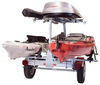 malone trailers roof rack on wheels 6-1/2w x 13l foot manufacturer