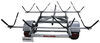 malone trailers roof rack on wheels 6-1/2w x 11l foot