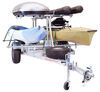 malone trailers roof rack on wheels 7w x 14l foot manufacturer