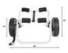 Malone Cart Watersport Carriers - MAL88FR