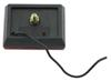 Square Trailer Clearance, Side Marker Light with Reflector - Red Incandescent Light MC36RB
