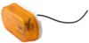 Optronics Trailer Clearance or Side Marker Light w/ Reflector - Incandescent - Oval - Amber Lens Amber MC38AB