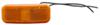optronics trailer lights non-submersible 4l x 1-1/2w inch clearance or side marker light w/ reflector - incandescent rectangle amber lens