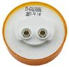 Optronics Trailer Clearance and Side Marker Light - Submersible - Incandescent - Round - Amber Lens Recessed Mount MC53AB