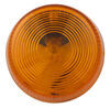 optronics trailer lights non-submersible 2-1/2 inch diameter clearance and side marker light - incandescent round amber lens
