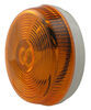 optronics trailer lights clearance non-submersible and side marker light - incandescent round amber lens