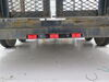 Identification Light Bar for Trucks and Trailers - Weatherproof - Incandescent - Red Lens Incandescent Light MC93RB