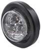 optronics trailer lights clearance submersible led or side marker light w/ grommet and pigtail - 3 diodes red