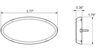 Optronics Trailer Lights - MCL0030RBB