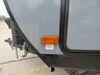 0  trailer lights optronics clearance reflectors 4l x 2w inch led or side marker light w/ reflector - 1 diode black base amber lens