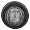 Uni-Lite LED Clearance and Side Marker Light w Grommet - Submersible - 2 Diodes - Clear Lens - Red 1 Inch Diameter MCL11CRKB