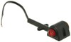 Optronics Rear Clearance,Side Marker Trailer Lights - MCL12ARRB