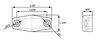 MCL131AC210B - Oblong Optronics Clearance Lights