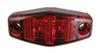 Optronics LED Mini Clearance or Side Marker Trailer Light - Submersible - 2 Diodes - Red Lens 2-1/2L x 1W Inch MCL13R2B