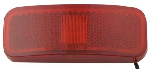 Optronics RE37RBP Red Rectangular Reflector