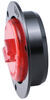 LED Trailer Clearance and Side Marker Light w/ Flange - Submersible - 5 Diodes - Round - Red Lens Recessed Mount MCL52RB