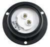 LED Trailer Clearance and Side Marker Light w/ Flange - Submersible - 5 Diodes - Round - Red Lens Round MCL52RB