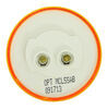 Optronics LED Trailer Clearance or Side Marker Light - Submersible - 3 Diodes - Round - Amber Lens LED Light MCL55AB