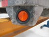 0  trailer lights optronics clearance 2-1/2 inch diameter led or side marker light - submersible 3 diodes round amber lens