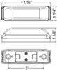 Optronics LED Light Trailer Lights - MCL63CAB