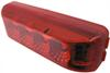 Miro-Flex Thinline LED Trailer Clearance or Side Marker Light - Sumbersible - 4 Diodes - Red Lens Surface Mount MCL63RB