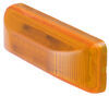 Optronics Thinline LED Trailer Clearance or Side Marker Light - Submersible - 3 Diodes - Amber Lens Rectangle MCL65AB