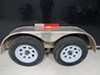 Thinline LED Trailer Fender Light - Submersible - 10 Diodes - Clear Lens w/ Amber/Red LEDs Surface Mount MCL65CARB