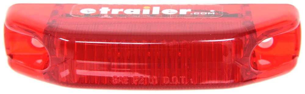 Optronics Rectangle Trailer Lights - MCL66R24B