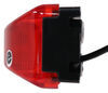 optronics trailer lights clearance rear side marker thinline led or light w/ bracket - submersible 3 diodes red lens