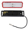 Thinline LED Trailer Clearance or Side Marker Light w/ Bracket - Submersible - 3 Diodes - Red Lens Red MCL67RB