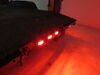 "LED Identification Light Bar for Trailers over 80"" Wide - Submersible - 9 Diodes - Red Lens ID Bar MCL93RB"