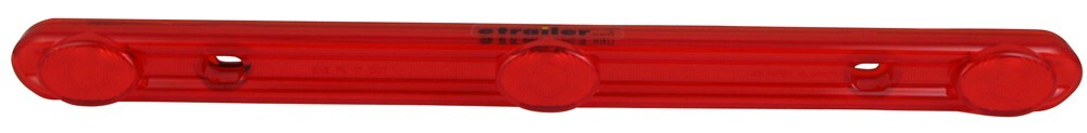 """LED Identification Light for Trailers Over 80"""" Wide - 3 Diode - Sealed - Rectangular - Red ID Bar MCL98RB"""