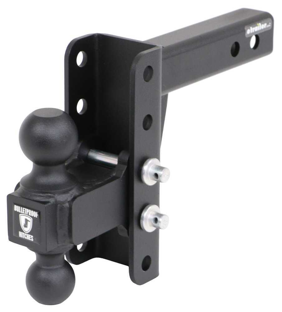 MD204 - 10000 lbs GTW,14000 lbs GTW BulletProof Hitches Adjustable Ball Mount