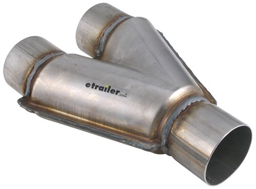 "Magnaflow 10792 Universal Exhaust X-Pipe 3/"" Stainless Steel 14/"" Long"