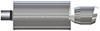 MF14836 - 14 Inch Body Length MagnaFlow 2-1/4 Inch Inlet Diameter