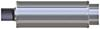 magnaflow performance mufflers 5 round x 18-3/4 inch gas engine stainless steel straight-through universal muffler - street series polished finish