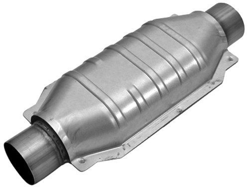 MagnaFlow Stainless Steel Catalytic Converter - Universal Any Time Use MF94005