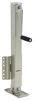 etrailer trailer jack side frame mount fixed square w/ footplate - drop leg bolt on zinc sidewind 29-1/8 inch lift 2.5k