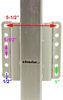 etrailer trailer jack fixed mount sidewind mjsq-2500b