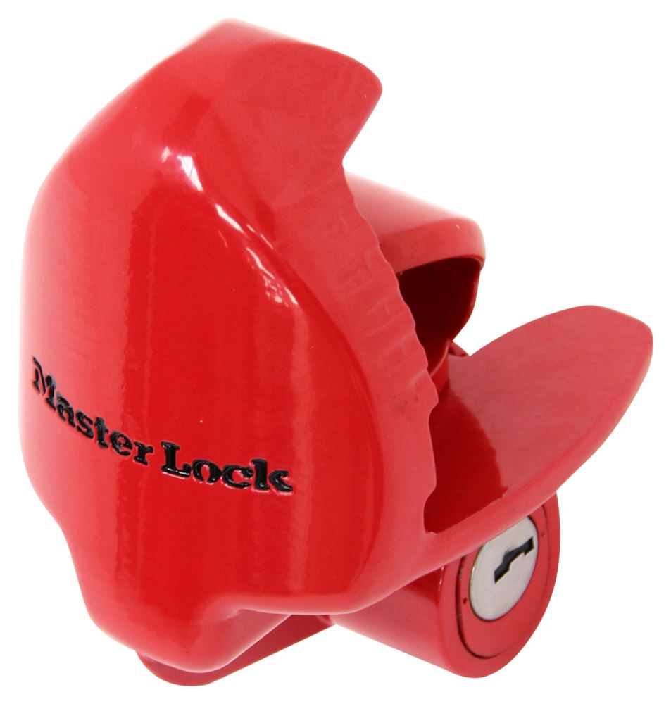 "Master Lock Trailer Coupler Lock - 1-7/8"", 2"" and 2-5/16"" Ball Couplers Universal Application Lock ML389DAT"