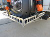 0  rv cargo carrier mount-n-lock generator 30 inch deep gennygo and for bumpers - aluminum 125 lbs