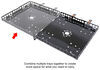 0  rv cargo carrier mount-n-lock generator gennygo and for bumpers - steel 200 lbs