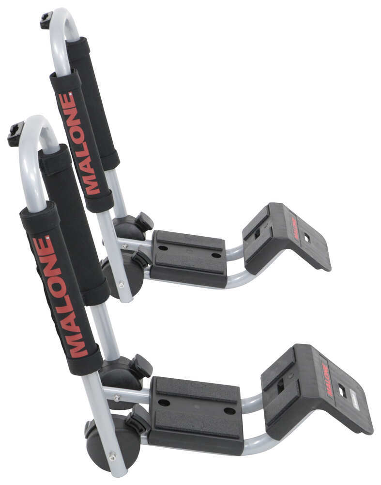 Malone DownLoader Kayak Carrier with Tie-Downs - J-Style - Folding - Side Loading No Load Assist MPG114MD