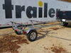 0  trailers malone roof rack on wheels retractable tongue microsportxt trailer - 78 inch crossbars 800 lbs