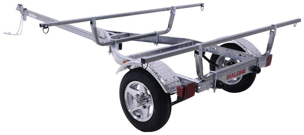 MPG460XT - Retractable Tongue Malone Roof Rack on Wheels