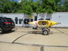 0  trailers malone roof rack on wheels 6-1/2w x 13l foot microsport trailer with j-style carriers for 2 kayaks - 800 lbs