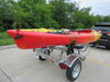0  trailers malone roof rack on wheels saddle style microsport trailer for 2 kayaks - 13' long 800 lbs